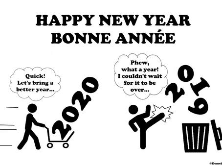 Happy New Year & Bonne Année 2020