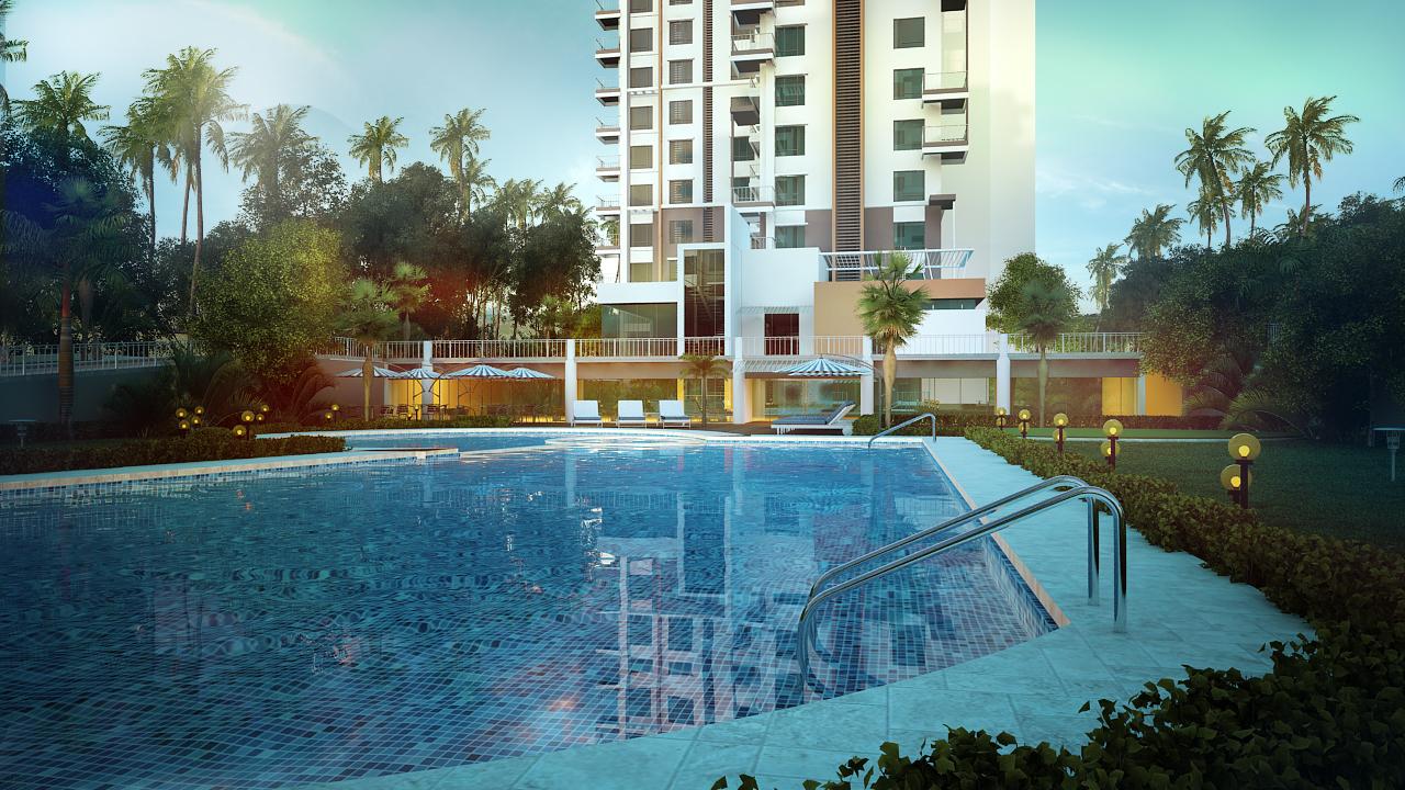 Emmanuel Heights pool