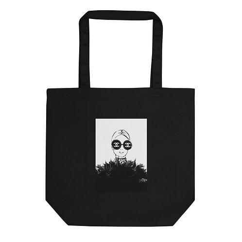 "Tote Bag ""Through a fashion eye"""