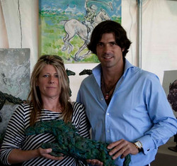 Presentation to International Champion, Nacho Figueras