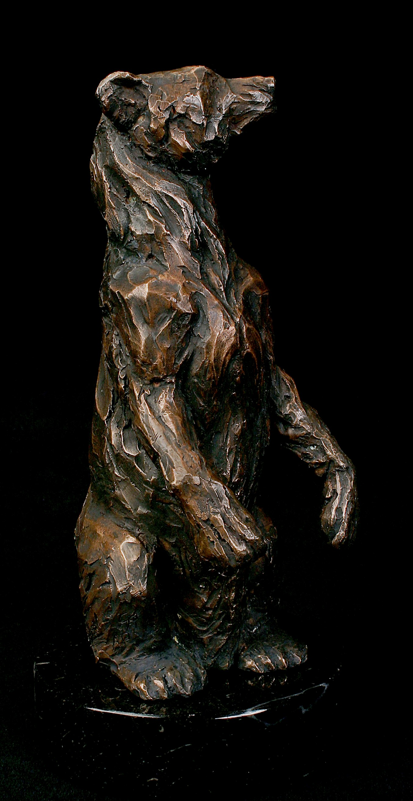"""Grizzly Bear"", Bronze"