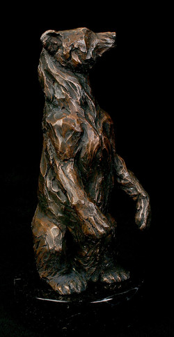 """""""Grizzly Bear"""", Bronze"""