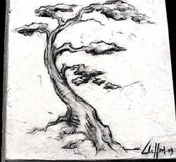 """""""Pine"""", Ceramic"""
