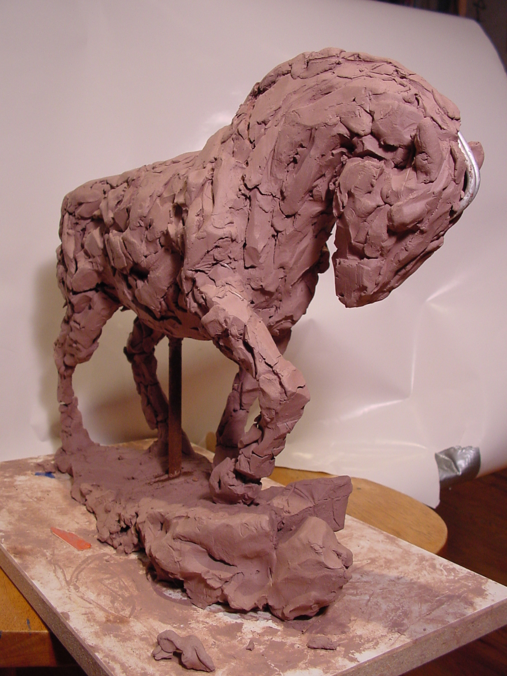 "Clay Model ""Draft"""