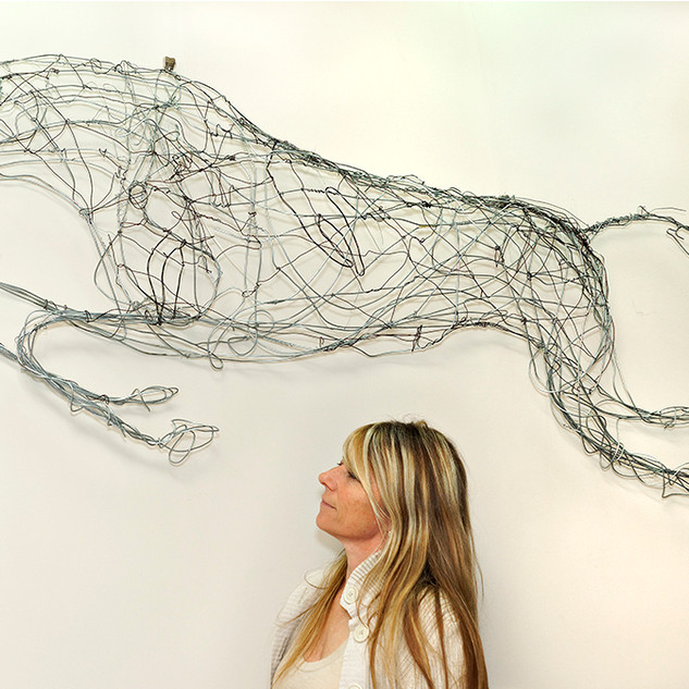 """""""HICKSTEAD"""" Ann Clifford 2012"""