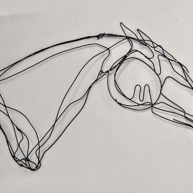 """""""QUARTER HORSE"""" Ann Clifford 2020"""