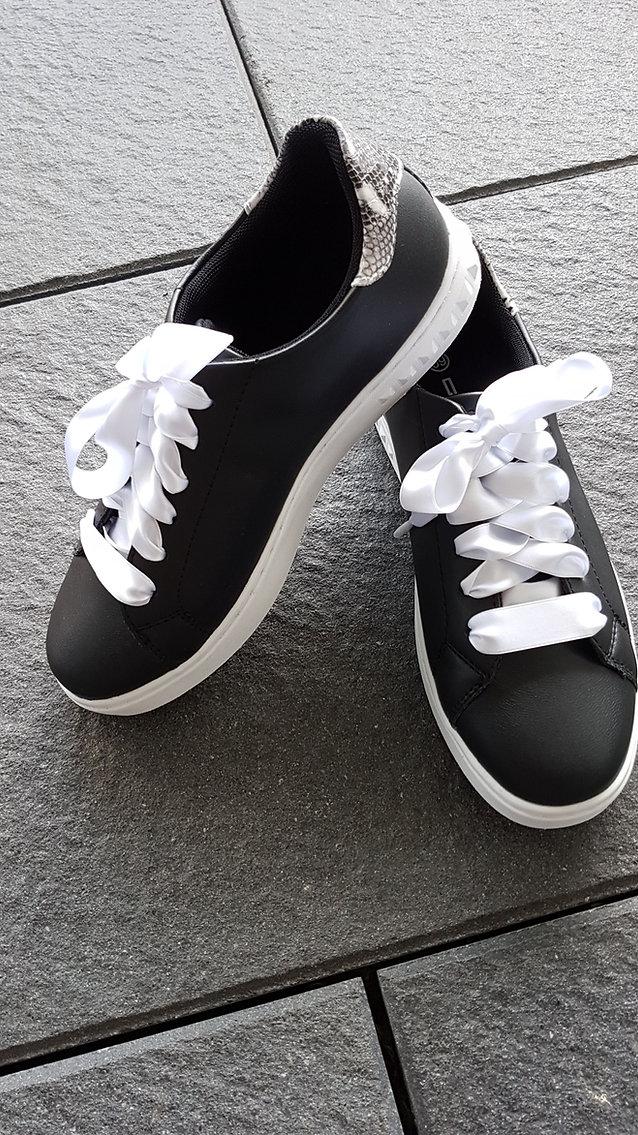 Satin-Schuhbänder