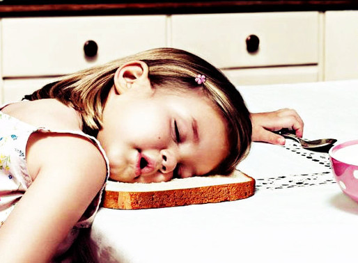 How does food and eating relate to sleep?
