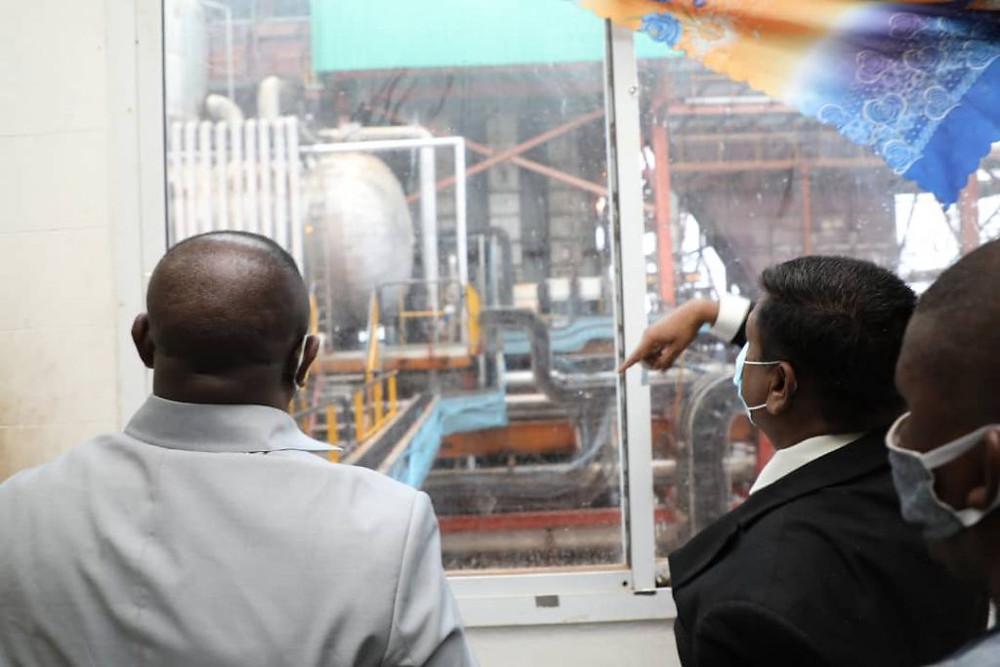 President Bio witnesses Sunbird producing 32MW of renewable electricity