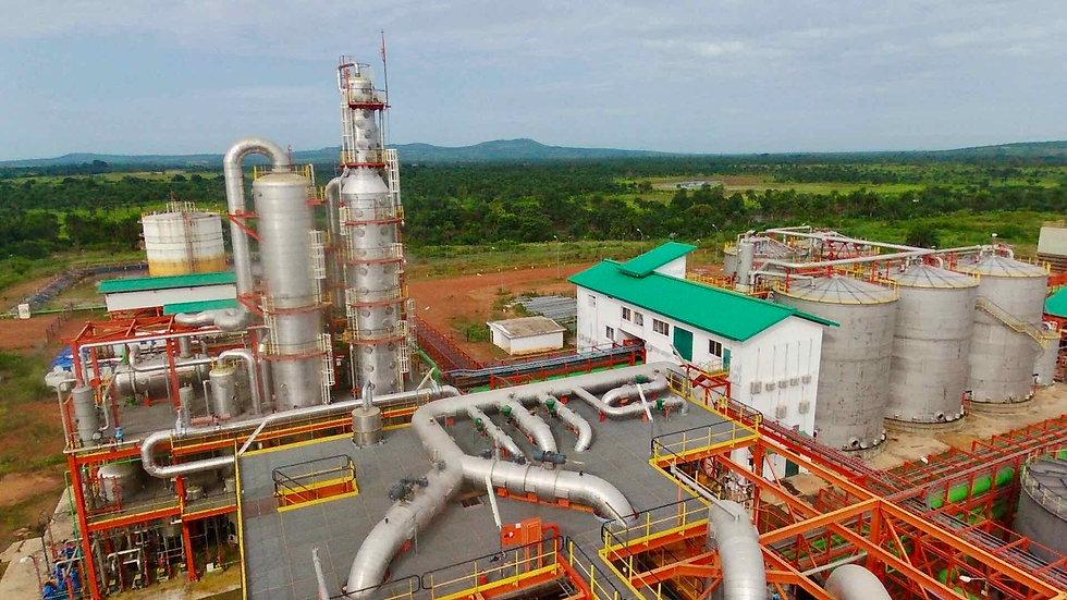 Sunbird Bioenergy Sierra Leone Distillery and Fuel Storage
