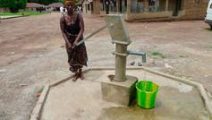 Village Water Pump Supplied by Sunbird
