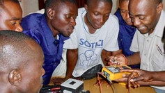 Engineering Apprentices Study Electric Circuits