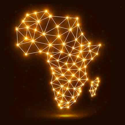 Renewable Power in Africa Concept