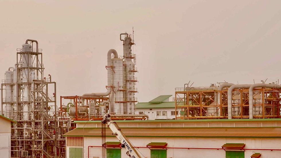 Sunbird Bioenergy Sierra Leone Sugar Clarification and Distillery