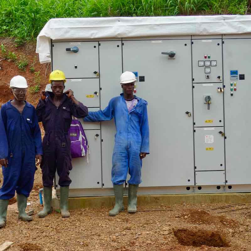 Rural Electrification project in Sierra Leone
