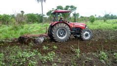 Farmer Development Service: Preparing Land for Village Vegetable Garden