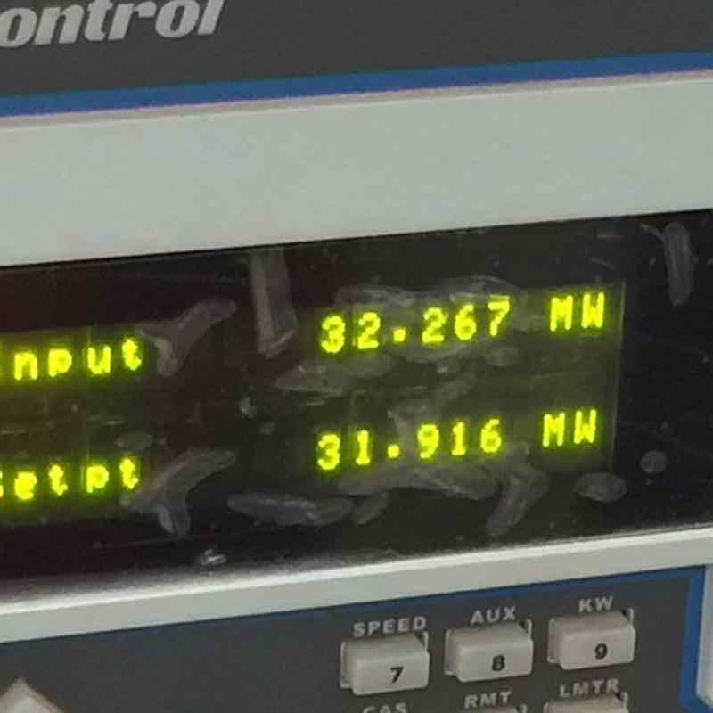Sunbird Bioenergy Sierra Leone 32 MW Grid Synchronisation Display