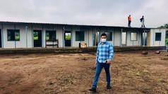 New School Under Construction