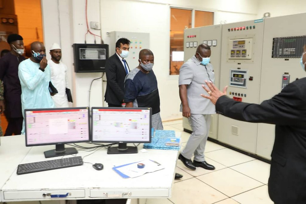 President Maada Bio Inspects Sunbird's Renewable Energy Project