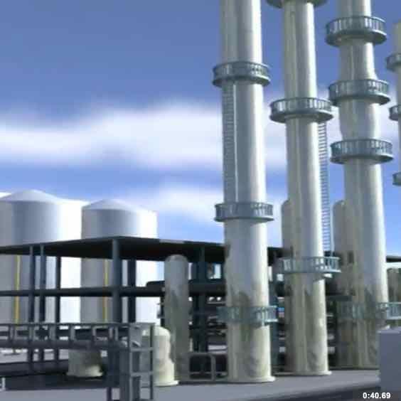 Engineering Rendering of Sunbird Bioenergy's Zambia's Proposed Biorefinery in Kawambwa, Luapula Province, Zambia.