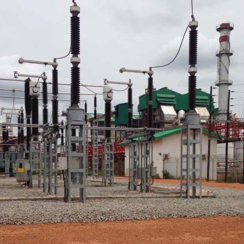Sunbird Bioenergy Sierra Leone 32 MW Biomass Power Plant Switch Gear