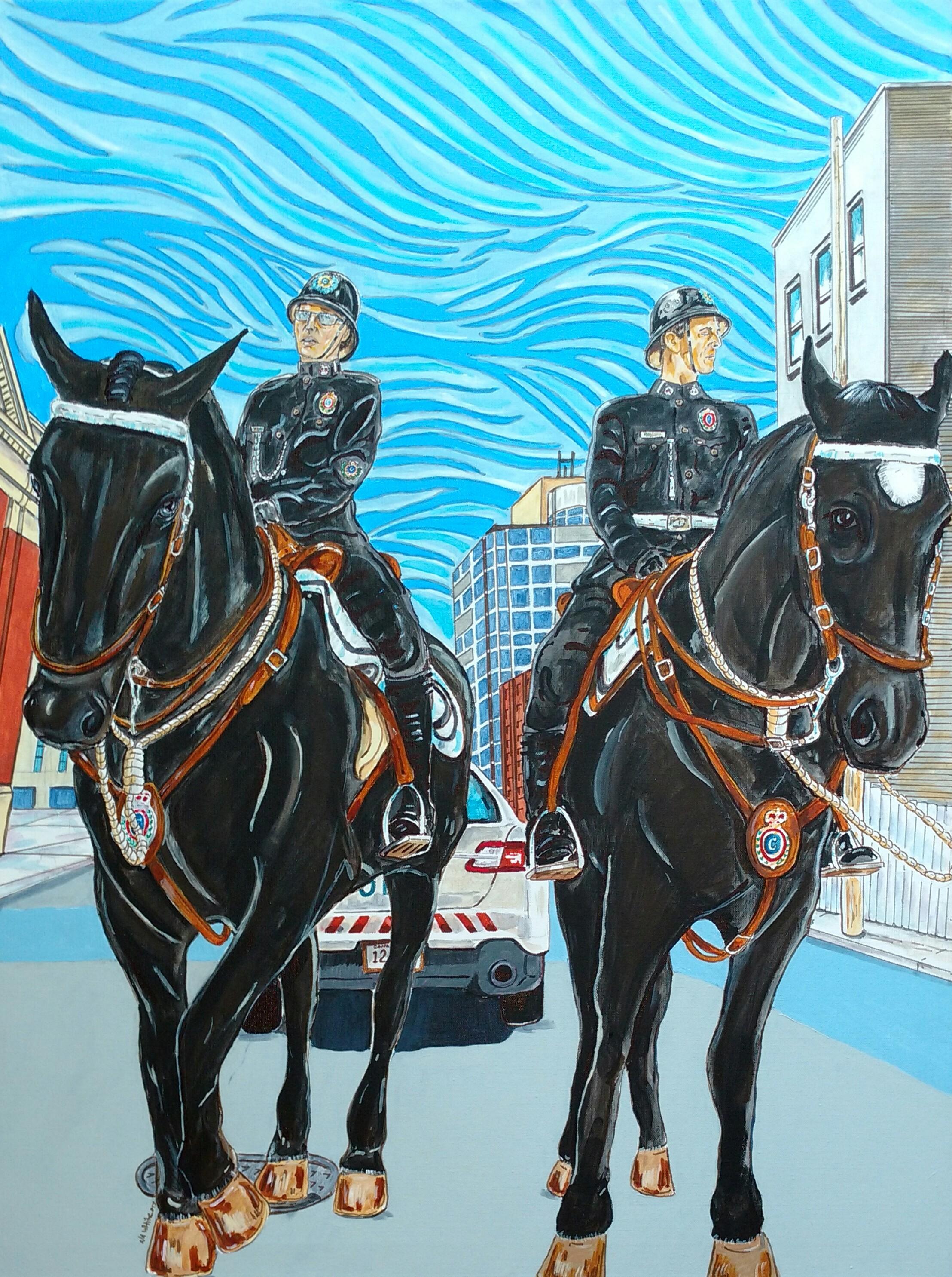 Constab Horses