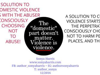 Violence is Violence