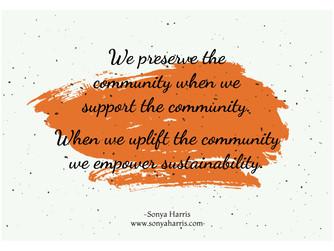 Uplift, Empower, Sustain Community