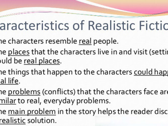 Rationale Realistic Fiction