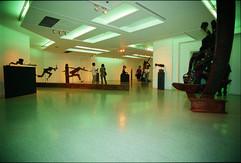 """설치전경, """"존재와 의식"""", 금호갤러리, 서울, 1995"""