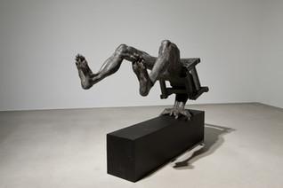 윤의 변 II | Yun's Rationale II 1988 Iron, wood 73 x 106 x 98(h) cm