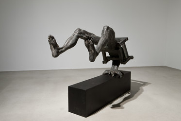 윤의 변 II | Yun's Rationale II 1988 Iron, wood 73 x 106 x 98(h) cm