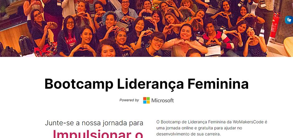 BootcampDeLiderancaFemininaWomakerscoder