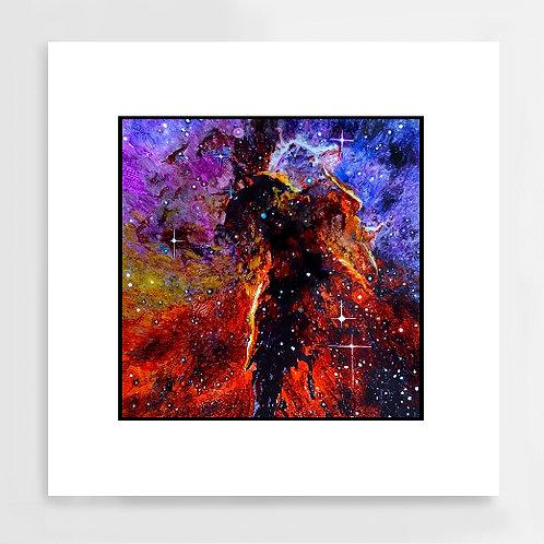 """Wings and Light (II)"" Art Print"