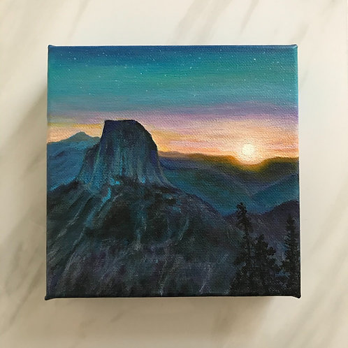 6x6 Miniature Painting