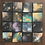 "Thumbnail: ""New Song Rising"" - 16 Original Miniature Paintings, 18K gold accents"
