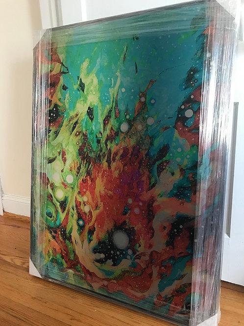 """Baptism: Water & Fire"" Oversized Aluminum Print (misprint)"