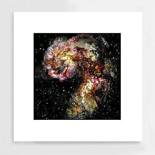 """Unfurling"" Art Print"