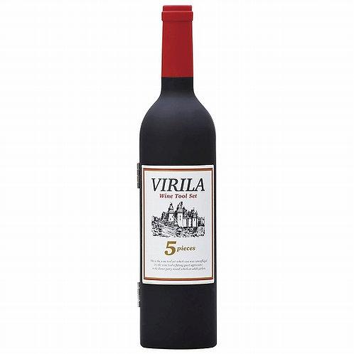 ボトル型ワインツールセットVIRILA