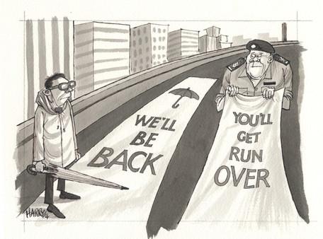 """WE'LL BE BACK"""