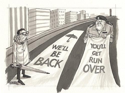"""WE'LL BE BACK"" Print"