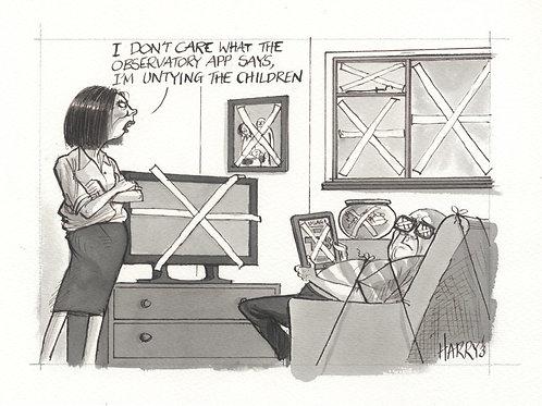 """""""UNTIE THE CHILDREN"""" Print"""