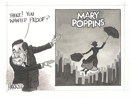 """MARY POPPINS"" Print"