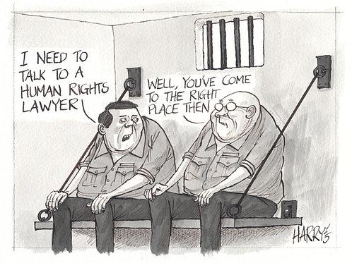 """HUMAN RIGHTS"" Print"