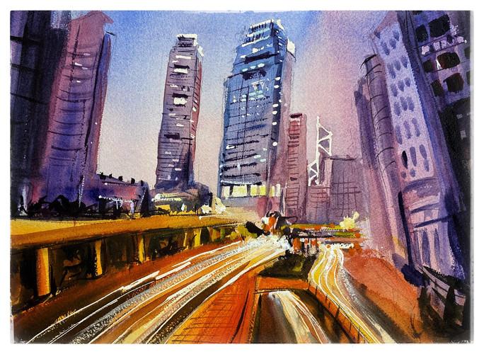 Hong Kong Central Traffic