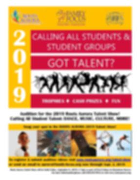 Talent Show flyer updated 8.2019 Sp Eng.