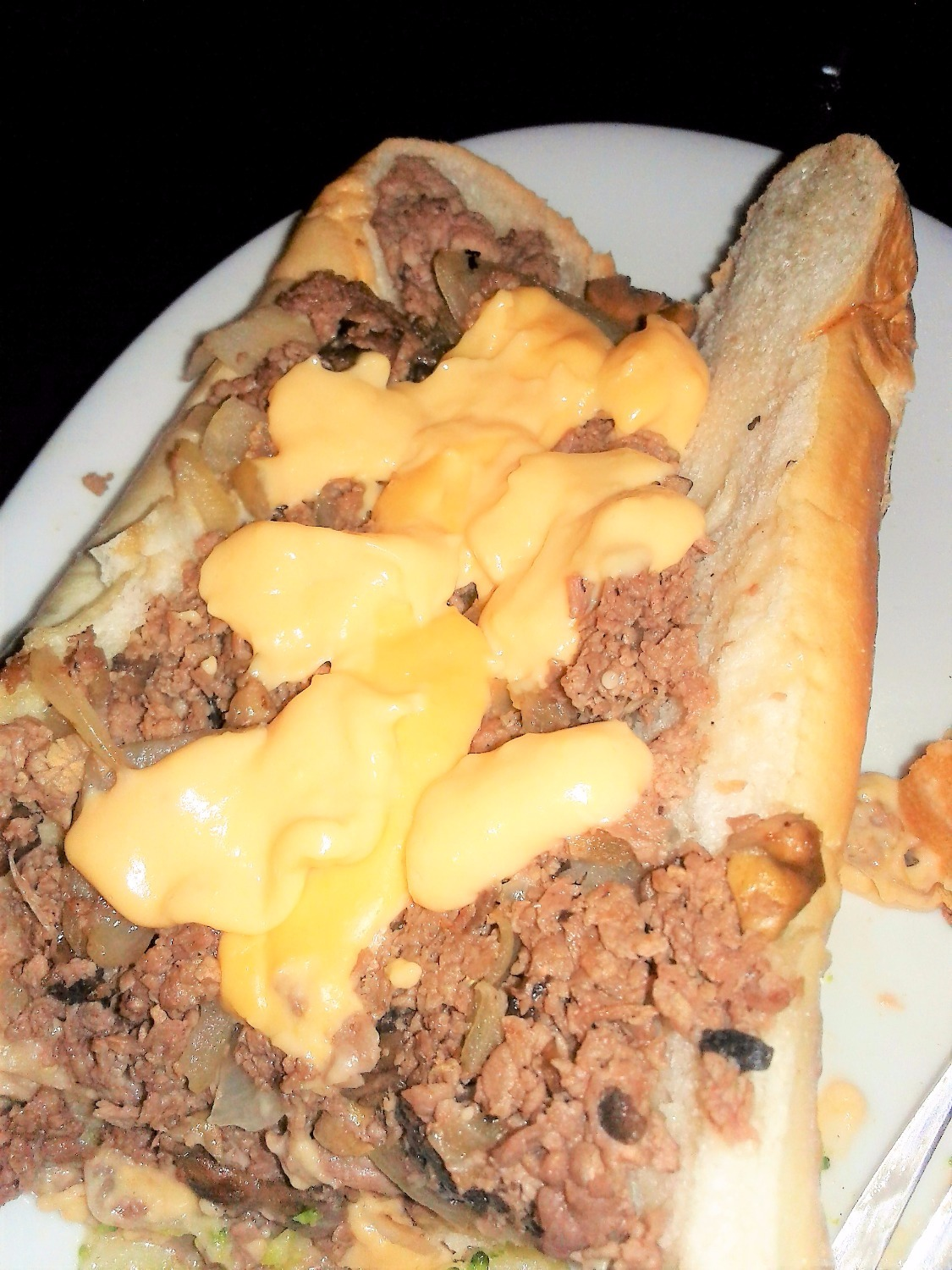 "Cheesesteak ""Wit Wiz"""