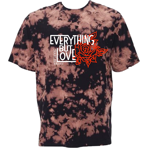"""Everything but Love"" Bleach Dyed Black"