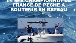64ème Championnat de France de pêche à soutenir 17-19 septembre 2021