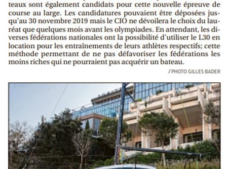 Le L30 dans La Provence du 23 mars 2020